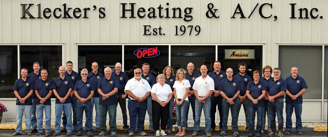 The Klecker Heating and AC Team in Watertown Wisconsin